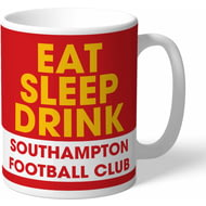 Personalised Southampton FC Eat Sleep Drink Mug