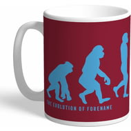 Personalised West Ham United Evolution Mug