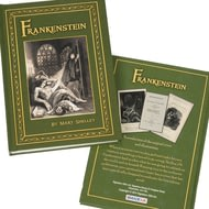 Personalised Mary Shelley Frankenstein Novel Book