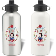 Personalised Disney Princess True Snow White Aluminium Water Bottle