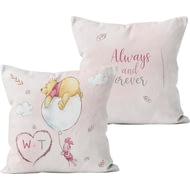 Personalised Winnie The Pooh & Piglet Always & Forever Cushion - 45x45cm