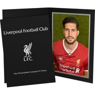 Personalised Liverpool FC Can Autograph Photo Folder