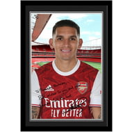 Personalised Arsenal FC Torreira autograph Photo Framed