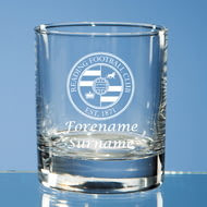 Personalised Reading FC Crest Whisky Glass