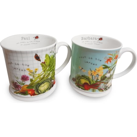 Personalised RHS Ceramic Mug Set