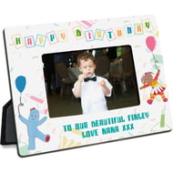 Personalised In The Night Garden Birthday 6x4 Landscape Photo Frame