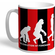 Personalised AFC Bournemouth Evolution Mug