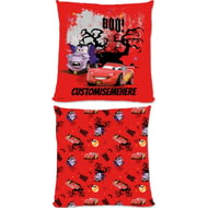 Personalised Disney Cars Lightning McQueen Seasonal Cushion - 45x45cm