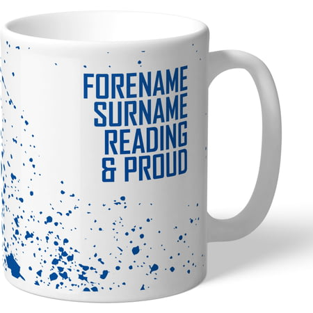 Personalised Reading FC Proud Mug