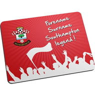 Personalised Southampton FC Legend Mouse Mat