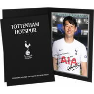 Personalised Tottenham Hotspur FC Son Autograph Photo Folder