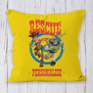 Personalised Toy Story 4 Rescue Squad Cushion - 45x45cm
