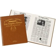 Personalised Oakland athletics Baseball Newspaper Book
