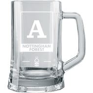 Personalised Nottingham Forest FC Monogram Large Straight Sided Tankard