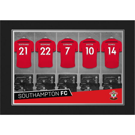 Personalised Southampton FC 9x6 Dressing Room Shirts Photo Folder