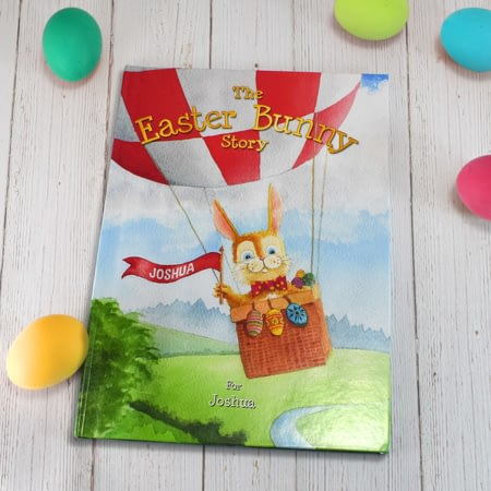 Personalised The Easter Bunny Kids Story Book