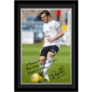Personalised Everton FC Baines Autograph Photo Framed