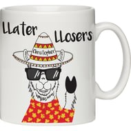 Personalised Llater Lloser Ceramic Mug