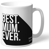 Personalised Newcastle United Best Mum Ever Mug
