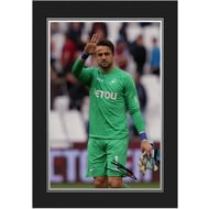 Personalised Swansea City Fabianski Autograph Photo Folder