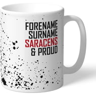 Personalised Saracens Proud Mug