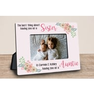 Personalised The Best Thing About You Pink Photo Frame