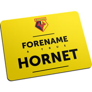 Personalised Watford FC True Mouse Mat