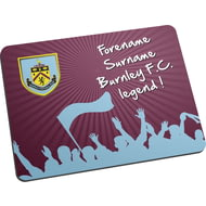 Personalised Burnley FC Legend Mouse Mat