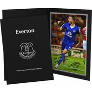 Personalised Everton FC Mirallas Autograph Photo Folder
