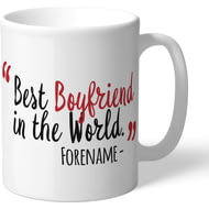Personalised Middlesbrough Best Boyfriend In The World Mug