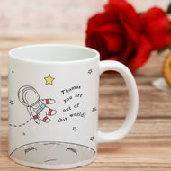 Personalised Out Of This World Ceramic Mug