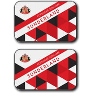 Personalised Sunderland AFC Patterned Rear Car Mats