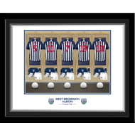 Personalised West Bromwich Albion FC Dressing Room Photo Framed