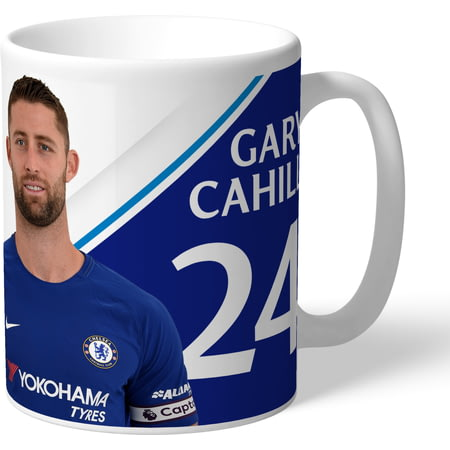 Personalised Chelsea FC Cahill Autograph Mug