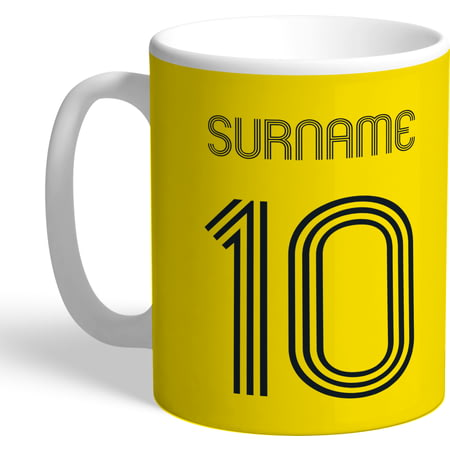 Personalised Watford Retro Shirt Mug