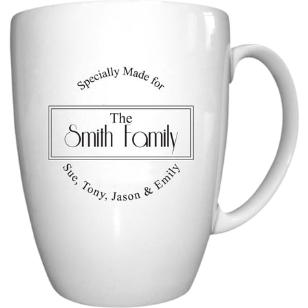 Personalised Specially Made For Conic Ceramic Mug