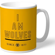 Personalised Wolves FC I Am Mug