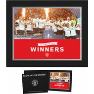 Personalised Manchester United FA Cup Winners 2016 Photo Folder