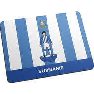 Personalised Sheffield Wednesday Player Figure Mouse Mat