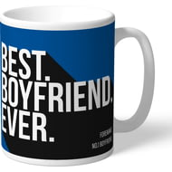Personalised Birmingham City Best Boyfriend Ever Mug