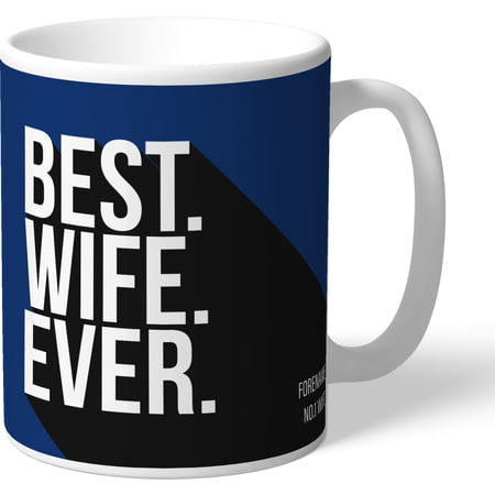 Personalised Millwall FC Best Wife Ever Mug