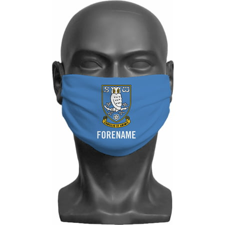 Personalised Sheffield Wednesday FC Crest Adult Face Mask