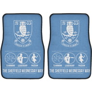 Personalised Sheffield Wednesday FC Way Front Car Mats