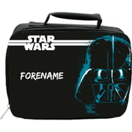 Personalised Star Wars Darth Vader Paint Insulated Lunch Bag - Black