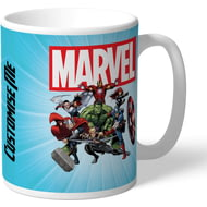 Personalised Marvel Avengers Group Mug