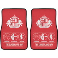 Personalised Sunderland AFC Way Front Car Mats