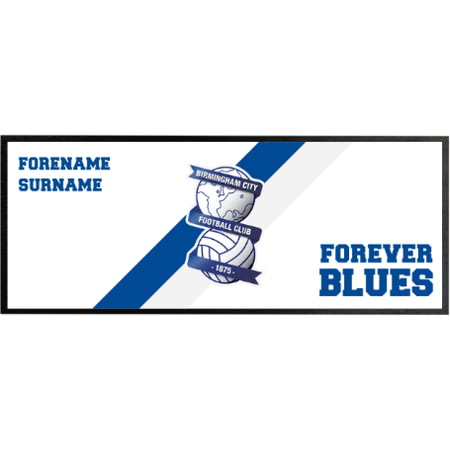 Personalised Birmingham City Forever Regular Bar Runner