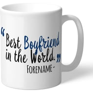 Personalised Bolton Wanderers Best Boyfriend In The World Mug