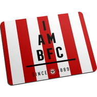 Personalised Brentford I Am Mouse Mat