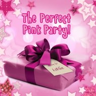 Personalised The Perfect Pink Party Childrens Story Book